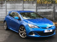 USED 2013 13 VAUXHALL ASTRA 2.0 VXR 3d 276 BHP LOW MILES/ARDEN BLUE/RECARO SEATS