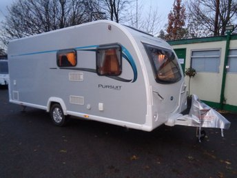 2015 BAILEY PURSUIT 430 4 BERTH 2015 YEAR ( FIXED BED ) £11689.00