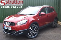 USED 2012 12 NISSAN QASHQAI 1.6 N-TEC PLUS 5d AUTO 117 BHP High Quality hand picked cars by Stratton Car Company Uckfield Sussex - 01825 713 793