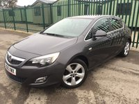 2010 VAUXHALL ASTRA 1.6 SRI 5d 113 BHP ALLOYS PRIVACY PARKING SENSORS CRUISE A/C FSH ONE OWNER MOT 08/19 £3490.00