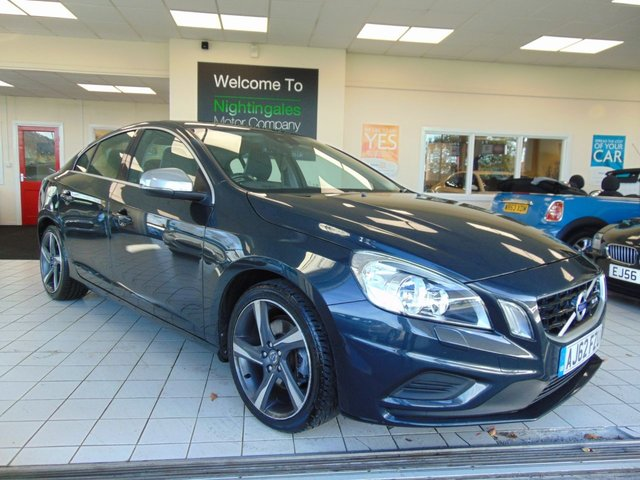 USED 2012 62 VOLVO S60 1.6 D2 R-DESIGN 4d 113 BHP LOW CAR TAX + FULL SERVICE HISTORY + OCTOBER 2019 MOT + BLUETOOTH + CRUISE CONTROL + CLIMATE CONTROL + CD RADIO + REMOTE CENTRAL LOCKING + ELECTRIC WINDOWS + ALLOYS + 2 KEYS