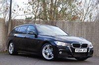 2014 BMW 3 SERIES 2.0 320D M SPORT TOURING 5d AUTO 181 BHP £14500.00