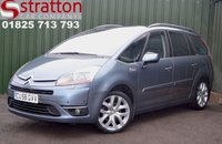 2008 CITROEN C4 GRAND PICASSO 2.0 EXCLUSIVE HDI EGS 5d AUTO 135 BHP £SOLD