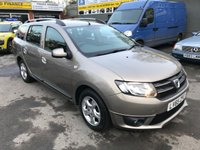2015 DACIA LOGAN MCV 0.9 LAUREATE TCE 5 DOOR 90 BHP ESTATE IN GREY WITH ONLY 16000 MILES IN IMMACULATE CONDITION. £7299.00