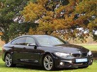 2014 BMW 4 SERIES 3.0 435I M SPORT GRAN COUPE 4d AUTO 302 BHP £22090.00