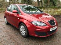 2010 SEAT ALTEA 1.9 S TDI 5d 103 BHP £3495.00