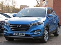 2016 HYUNDAI TUCSON 1.7 CRDI SE NAV BLUE DRIVE 5d AUTO 139 BHP £13995.00