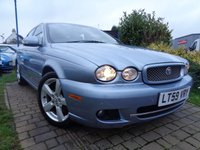 USED 2009 59 JAGUAR X-TYPE 2.2 SE 4d AUTO 145 BHP **Low Mileage Sat Nav Full Leather S/History 12 Months Mot**