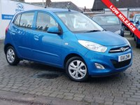 USED 2011 11 HYUNDAI I10 1.2 ACTIVE 5d 85 BHP CHECK OUR.  EDINBURGH CAR STORE WEB SITE  WE HAVE OVER  50  CARS IN STOCK