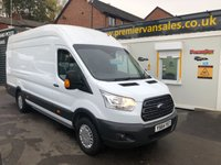 2015 FORD TRANSIT 2.2 TDCI, 125 BHP, 350 X-LWB JUMBO, TREND HIGH SPEC, HIGH ROOF, SAT NAV, AIR CON, FULL SERVICE HISTORY, ONE OWNER £10500.00