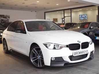 2017 BMW 3 SERIES 2.0 320D M SPORT SHADOW EDITION 4d AUTO 188 BHP £24990.00