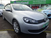 USED 2011 61 VOLKSWAGEN GOLF 1.6 SE TDI BLUEMOTION TECHNOLOGY 2d 104 BHP CALL 01543 379066... 12 MONTHS MOT... 6 MONTHS WARRANTY... FULL SERVICE HISTORY
