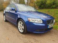 2008 VOLVO S40 1.6 SE D 4d 109 BHP £3995.00