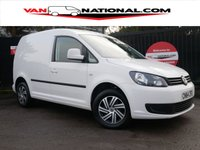 2014 VOLKSWAGEN CADDY 1.6 C20 TDI TRENDLINE 102 BHP (4 SERVICES MOT'D UNTIL 29/9/19) £5490.00