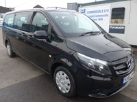 USED 2016 16 MERCEDES-BENZ VITO 2.1 114 BLUETEC 9 SEATER TOURER PRO, AUTOMATIC, 136 BHP [EURO 6]