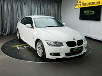 USED 2010 60 BMW 3 SERIES 2.0 320D M SPORT 2d AUTO 181 BHP £0 DEPOSIT FINANCE AVAILABLE, AIR CONDITIONING, AUX INPUT, BMW PROFESSIONAL, CLIMATE CONTROL, CRUISE CONTROL, DAYTIME RUNNING LIGHTS, FULL LEATHER UPHOLSTERY, HEATED SEATS, PARKING SENSORS, SATELLITE NAVIGATION, STEERING WHEEL CONTROLS, TRIP COMPUTER