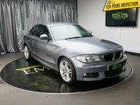 USED 2010 10 BMW 1 SERIES 2.0 120D M SPORT 2d 175 BHP £0 DEPOSIT FINANCE AVAILABLE, AIR CONDITIONING, AUX INPUT, BMW PROFESSIONAL, CLIMATE CONTROL, CRUISE CONTROL, FULL RED LEATHER UPHOLSTERY, PARKING SENSORS, START/STOP SYSTEM, TRIP COMPUTER