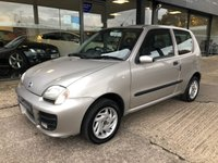 USED 2001 FIAT SEICENTO 1.1 SPORTING 3d 54 BHP Very low mileage, Great condition, 12 month MOT included