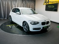 USED 2013 13 BMW 1 SERIES 1.6 114I SPORT 5d 101 BHP £0 DEPOSIT FINANCE AVAILABLE, AIR CONDITIONING, AUX INPUT, BLUETOOTH CONNECTIVITY, BMW I DRIVE, CLIMATE CONTROL, DAB RADIO, SPEED LIMITER, START/STOP SYSTEM, STEERING WHEEL CONTROLS, TRIP COMPUTER