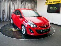 USED 2012 62 VAUXHALL CORSA 1.7 SRI CDTI 3d 128 BHP £0 DEPOSIT FINANCE AVAILABLE, AIR CONDITIONING, CD/MP3/RADIO, CLIMATE CONTROL, DAYTIME RUNNING LIGHTS, STEERING WHEEL CONTROLS, TINTED GLASS, TRIP COMPUTER