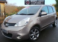 USED 2011 61 NISSAN NOTE 1.6 N-TEC 5d AUTO 110 BHP 5 Services - Sat Nav - Local Part Exchange rare Automatic