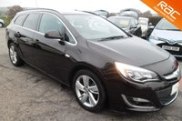 USED 2014 14 VAUXHALL ASTRA 1.6 SRI 5d 115 BHP VIEW AND RESERVE ONLINE OR CALL 01527-853940 FOR MORE INFO.