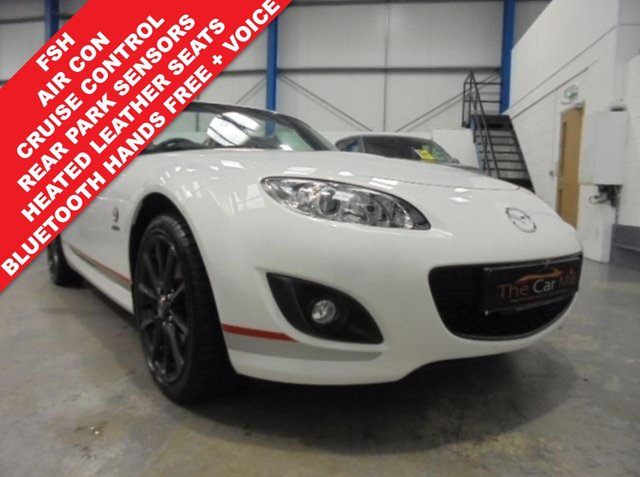 2012 62 MAZDA MX-5 2.0 I ROADSTER KURO EDITION 2d 158 BHP