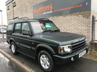 2003 LAND ROVER DISCOVERY 2.5 TD5 GS 7STR 5d AUTO 136 BHP £SOLD