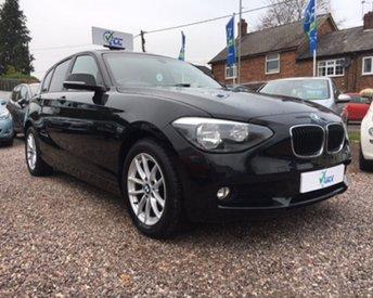 2013 BMW 1 SERIES 2.0 118D SE 5d AUTO 141 BHP £13995.00