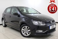 USED 2014 64 VOLKSWAGEN POLO 1.4 SE TDI BLUEMOTION 5DR 74 BHP 1 Owner SERVICE HISTORY + BLUETOOTH + MULTI FUNCTION WHEEL + DAB RADIO + ELECTRIC WINDOWS + 15 INCH ALLOY WHEELS