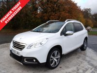 USED 2015 65 PEUGEOT 2008 1.6 BLUE HDI S/S FELINE MISTRAL 5d 100 BHP SATELLITE NAVIGATION ONE OWNER  TWO KEYS SERVICE HISTORY 2106 / 2018 DEALER ROBINS AND DAY 2018 OIL SERVICE 2018 GROVE CARS