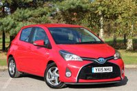 2015 TOYOTA YARIS 1.5 HYBRID ICON 5d AUTO 73 BHP £9880.00