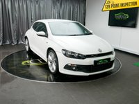USED 2013 13 VOLKSWAGEN SCIROCCO 2.0 R LINE TDI 2d 170 BHP £0 DEPOSIT FINANCE AVAILABLE, AIR CONDITIONING, BLUETOOTH CONNECTIVITY, CLIMATE CONTROL, DAB RADIO, DAYTIME RUNNING LIGHTS, FULL R LINE LEATHER UPHOLSTERY, HEATED SEATS, SATELLITE NAVIGATION, STEERING WHEEL CONTROLS, TRIP COMPUTER