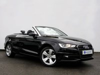 USED 2014 64 AUDI A3 1.8 TFSI SPORT 2d AUTO 178 BHP Petrol Convertible with Full Audi Main Dealer Service History