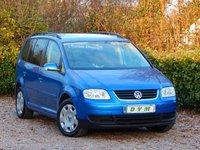 2004 VOLKSWAGEN TOURAN 2.0 SE TDI 7 STR 5d 136 BHP £2670.00