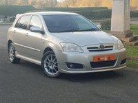 2006 TOYOTA COROLLA 1.6 SR VVT-I 5d 109 BHP £3690.00