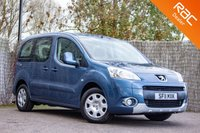 USED 2011 11 PEUGEOT PARTNER 1.6 TEPEE S HDI 5d 92 BHP £0 DEPOSIT BUY NOW PAY LATER - WAV - WHEELCHAIR ACCESS VEHICLE