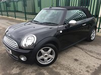 2009 MINI CONVERTIBLE 1.6 COOPER 2d 120 BHP ALLOYS PARKING SENSORS CRUISE BLUETOOTH A/C FSH MOT 11/19 £4490.00