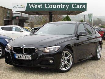 2013 BMW 3 SERIES 2.0 318D M SPORT 4d 141 BHP £14000.00