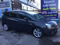 2015 VAUXHALL ZAFIRA TOURER 2.0 SRI CDTI 5d 128 BHP, only 14000 miles, 1 owner £10995.00