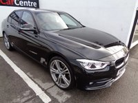 USED 2015 65 BMW 3 SERIES 2.0 318D SPORT 4d AUTO 148 BHP RED LEATHER CLIMATE CONTROLL DAB RADIO BLUETOOTH SAT NAV HEATED SEATS PRIVACY GLASS ALLOYS AIR CON
