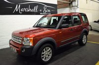 USED 2008 08 LAND ROVER DISCOVERY 3 2.7 3 TDV6 XS 5d 188 BHP LOW MILES - RARE MANUAL - 7 SEATS - LEATHER - NAV
