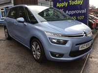 2015 CITROEN C4 GRAND PICASSO 1.6 BLUEHDI SELECTION 5d 118 BHP, only 23000 miles, 1 Owner £11495.00