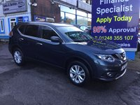 2017 NISSAN X-TRAIL 1.6 DCI ACENTA 5d 130 BHP, only 14000 miles, 1 Owner £16995.00