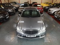 2010 MERCEDES-BENZ E CLASS E220 CDI BLUEEFFICIENCY SPORT 2.1 4d AUTO  £8000.00