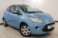 USED 2012 12 FORD KA 1.2 EDGE 3DR 69 BHP Full Service History FULL SERVICE HISTORY + AIR CONDITIONING + RADIO/CD/AUX + ELECTRIC WINDOWS + ELECTRIC MIRRORS