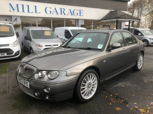 View our MG ZT