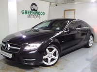 2011 MERCEDES-BENZ CLS CLS350 CDI BlueEFFICIENCY AMG Sport 7G-Tronic Plus £12494.00
