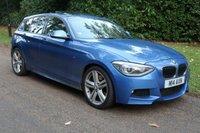 2012 BMW 1 SERIES 2.0 120D M SPORT 5d AUTO 181 BHP £12495.00