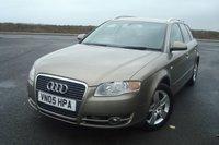 2005 AUDI A4 2.0 TDI SE 5d AUTO 140 BHP £2395.00